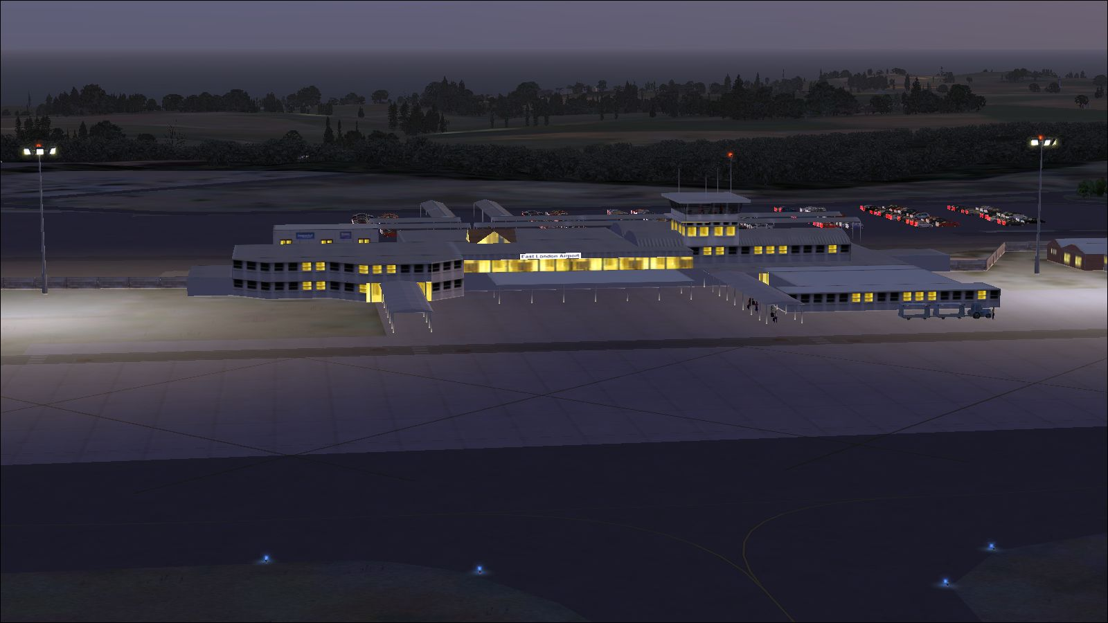 NMG SIMULATIONS - EAST LONDON AIRPORT V2.4 FSX