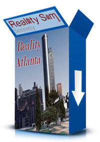 REALITY SIM SCENERY - REALITY ATLANTA FSX P3D