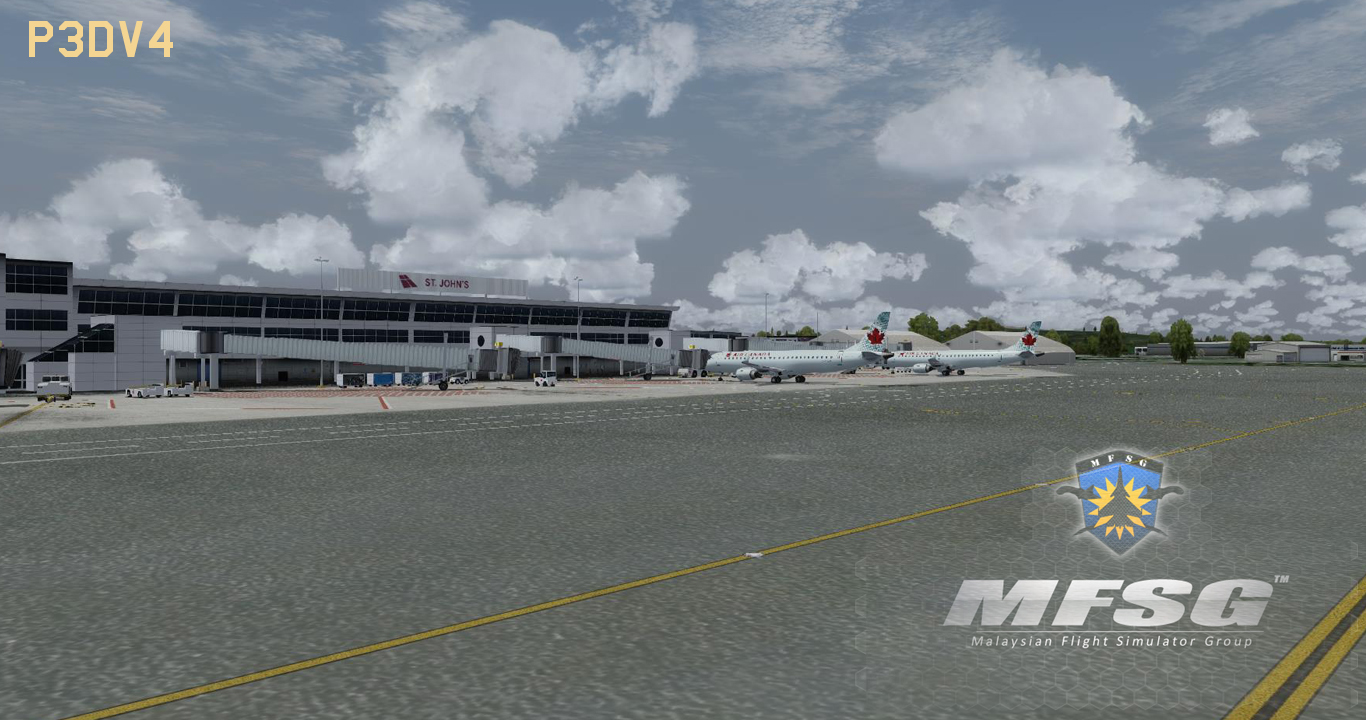 MFSG - ST. JOHN'S INTERNATIONAL AIRPORT CYYT 2018 FSX P3D FS2004