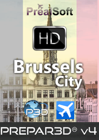 PREALSOFT - HD CITIES BRUSSELS FSX P3D4