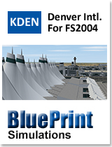 BLUEPRINT - KDEN DENVER INTERNATIONAL FS2004