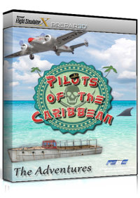 FSDG - PILOTS OF THE CARIBBEAN - THE ADVENTURES FSX P3D
