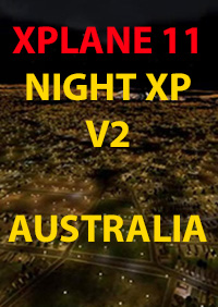 TABURET - NIGHT XP V2 AUSTRALIA XPLANE11