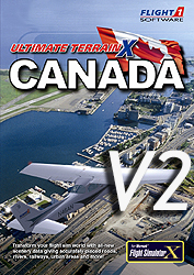 FLIGHT 1 - ULTIMATE TERRAIN X - CANADA VERSION V2  FSX FSX-SE P3D (DOWNLOAD)