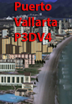 PACIFIC ISLANDS SIMULATION - POSTCARD PUERTO VALLARTA P3D