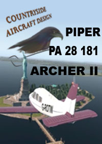 COUNTRYSIDE AIRCRAFT DESIGN - PIPER PA-28-181 ARCHER II X-PLANE 11