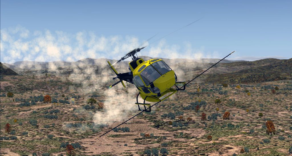NEMETH DESIGNS - AEROSPATIALE AS350 ECUREUIL EXPANSION PACK FSX P3D