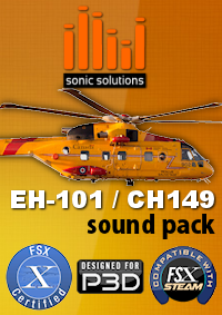SONIC SOLUTIONS - AGUSTA WESTLAND EH-101 / CH-149 CORMORANT SOUNDPACK FSX P3D
