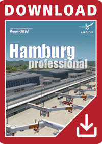 AEROSOFT - GERMAN AIRPORTS - HAMBURG PROFESSIONAL P3D4