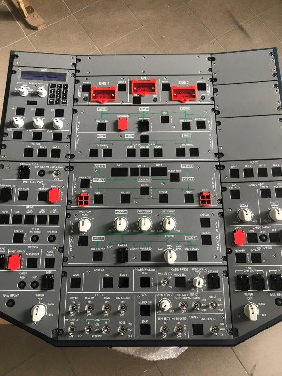 SIM ON SOLUTION - AIRBUS A320 OVERHEAD PANEL PLUG&PLAY