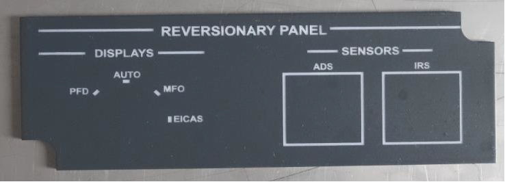 GWI - EMBRAER 170 REVERSIONALY PANEL - BLIND - MP-REVB