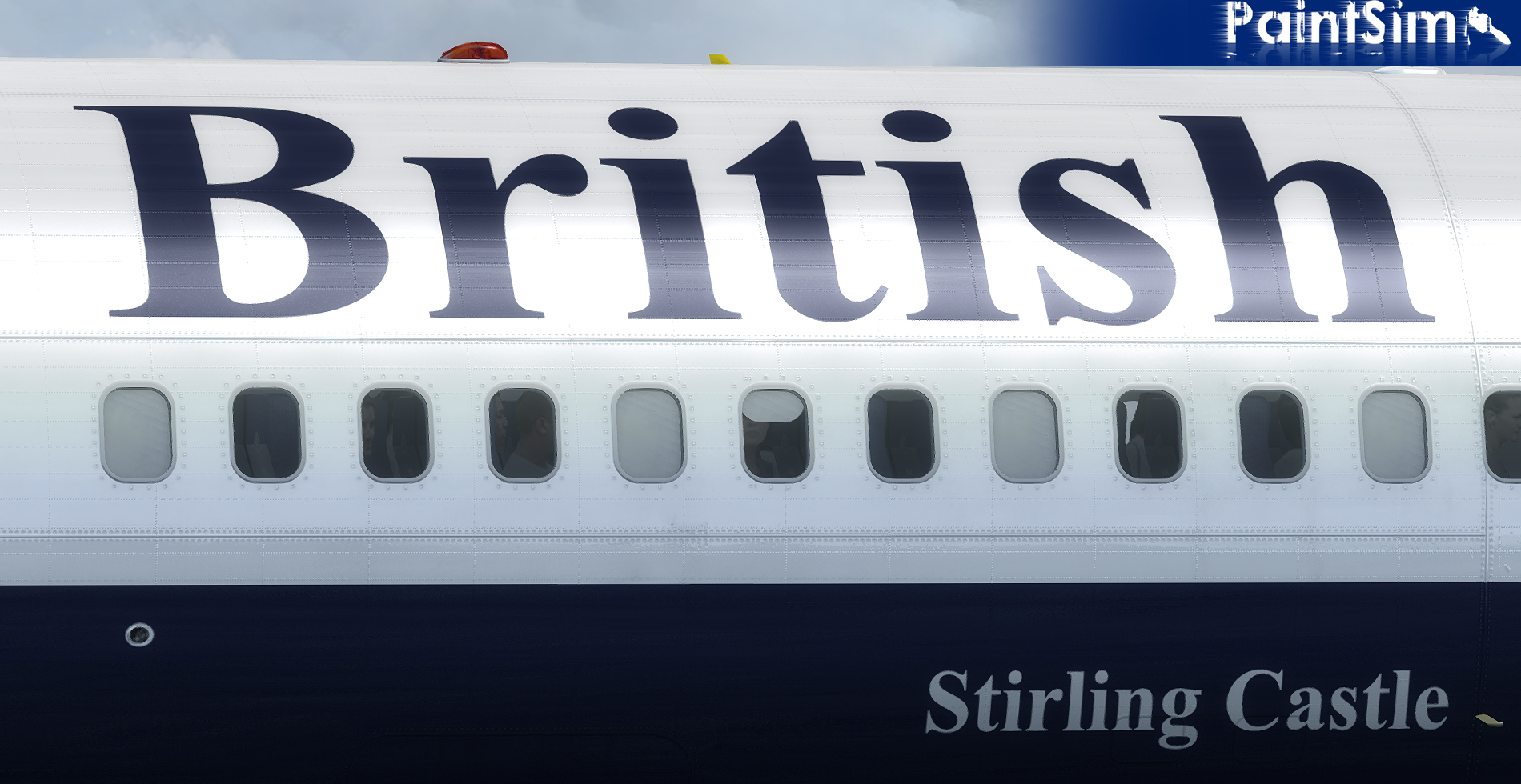 PAINTSIM - UHD TEXTURE PACK 2 FOR CAPTAIN SIM BOEING 757-200 III FSX P3D
