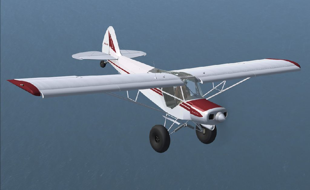 FLIGHT REPLICAS - SUPER CUB ULTRA FSX P3D