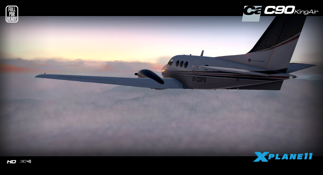 CARENADO - C90B KING AIR HD SERIES X-PLANE 11