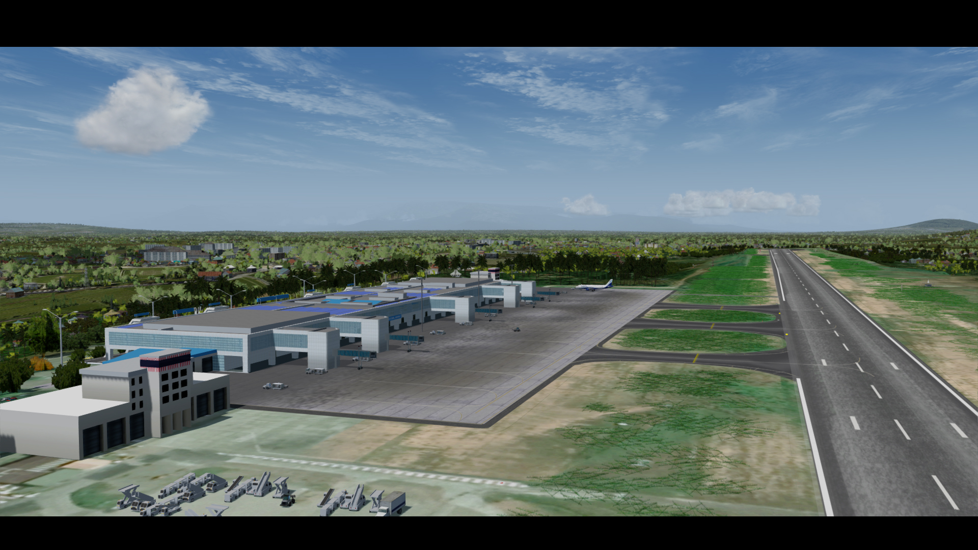 STINN CREATIONS - KARIPUR INTERNATIONAL AIRPORT P3D4