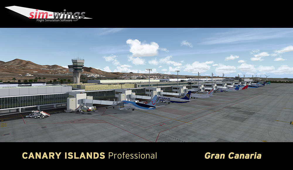 AEROSOFT - CANARY ISLANDS PROFESSIONAL - GRAN CANARIA P3D4