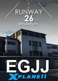 RWY26 SIMULATIONS - EGJJ JERSEY AIRPORT X-PLANE 11