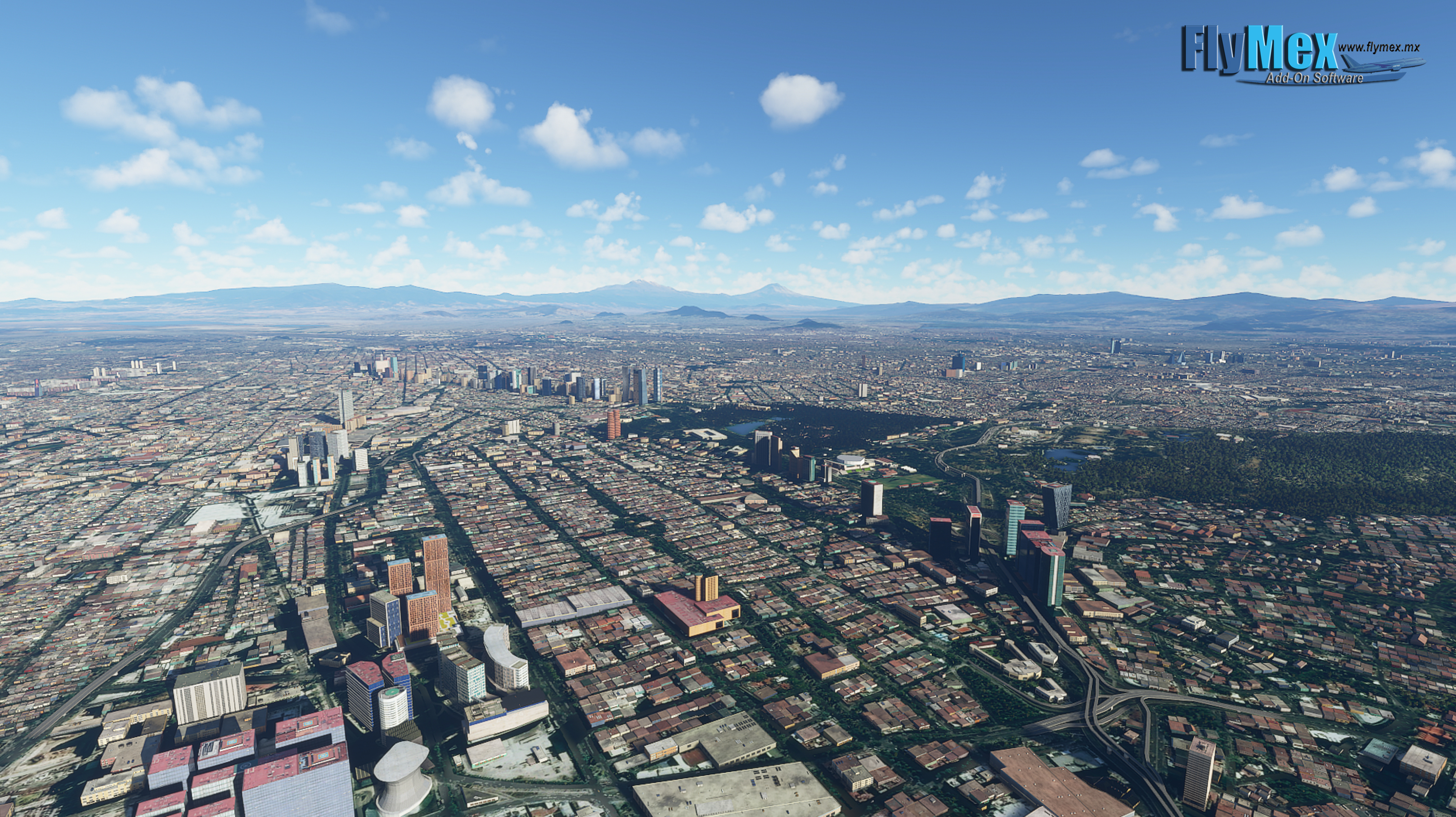 FLYMEX SOFTWARE - MEXICO CITY LANDMARKS MSFS