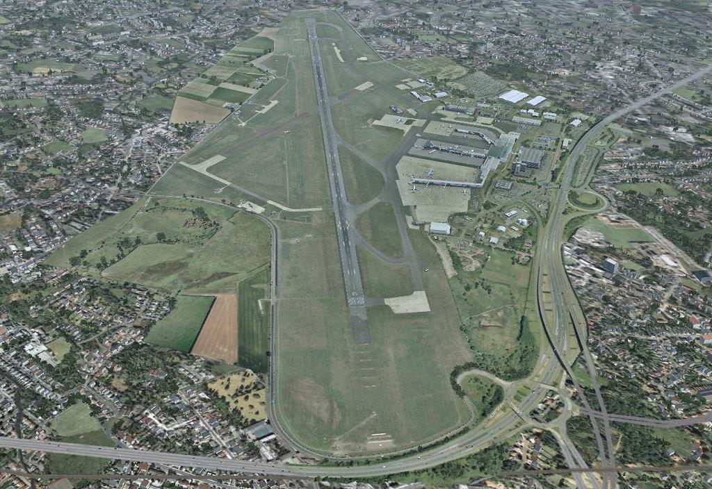 UK2000 SCENERY - GLASGOW XTREME V3 FSX P3D FS2004