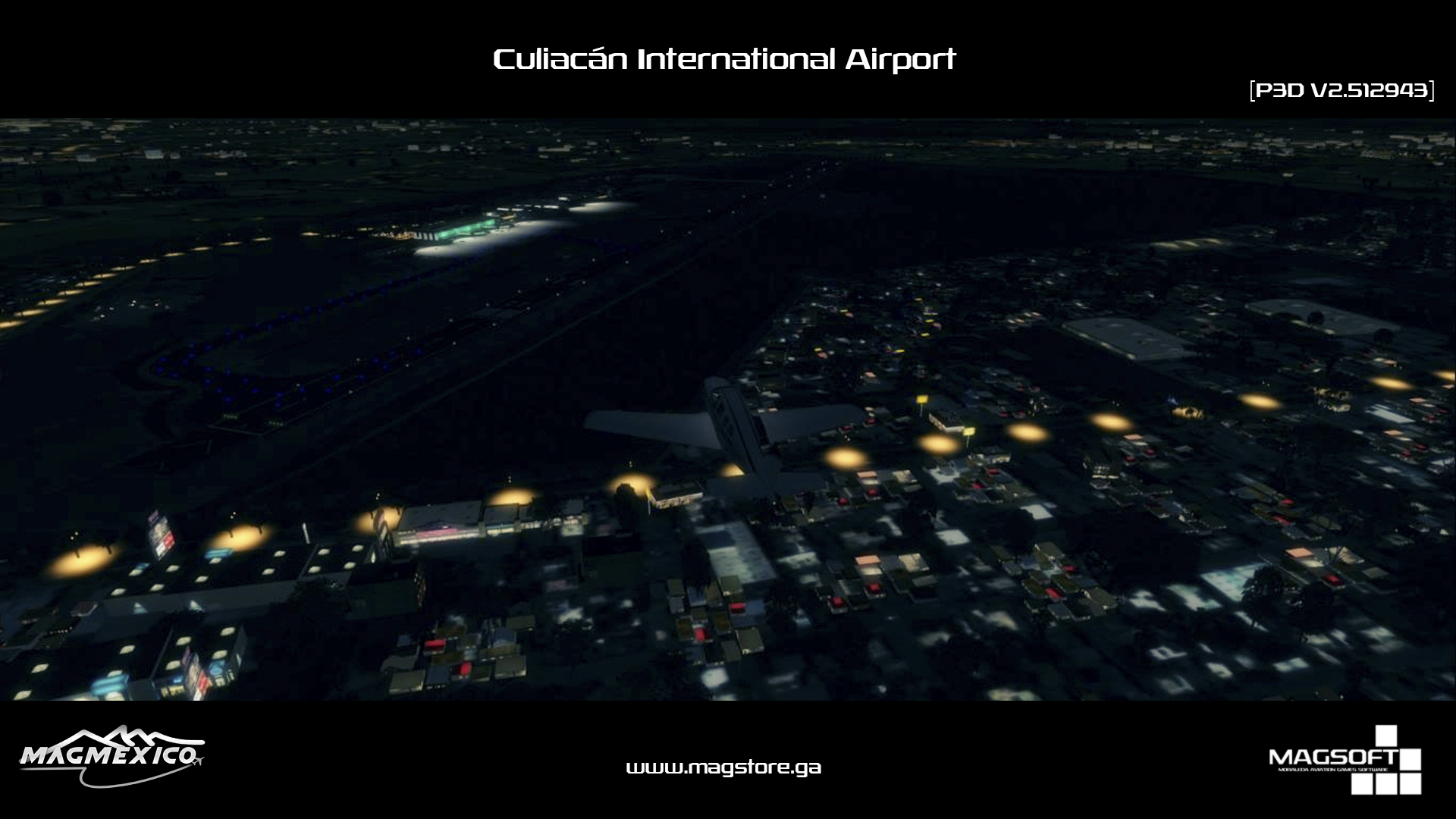 MAGMEXICO - CULIACÁN INTERNATIONAL AIRPORT P3D