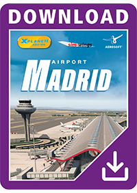 AEROSOFT - AIRPORT MADRID XP X-PLANE 11