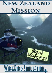 REAL VOICES - NEW ZEALAND - HELICOPTER MOVIE SCOUTING MISSION MSFS