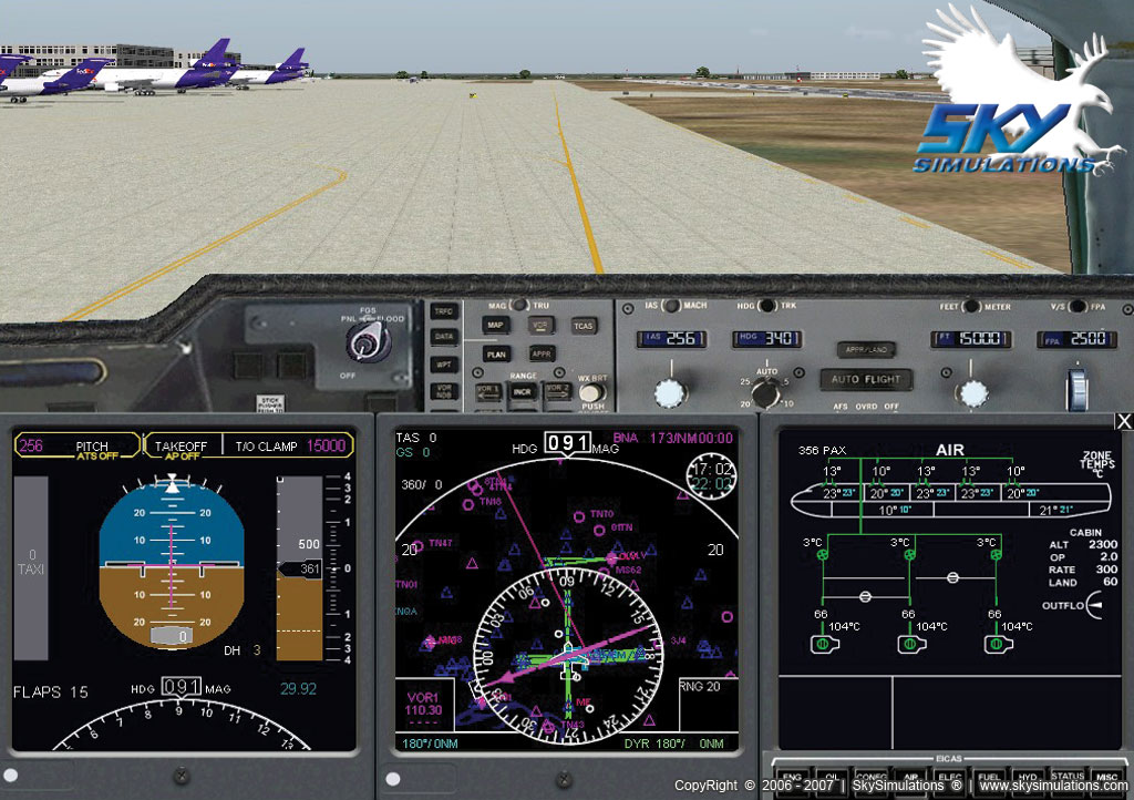 SKY SIMULATIONS - MD-11