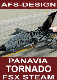 AFS-DESIGN - PANAVIA TORNADO V2 FSX STEAM