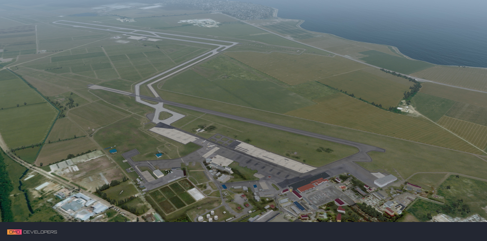 DMD DEVELOPERS - KRASNODAR (PASHKOVSKY) AIRPORT FSX/PREPAR3D