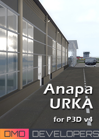 DMD DEVELOPERS - ANAPA (VITYAZEVO) AIRPORT P3D4