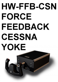 FI - HW-FFB-CSN FORCE FEEDBACK CESSNA YOKE