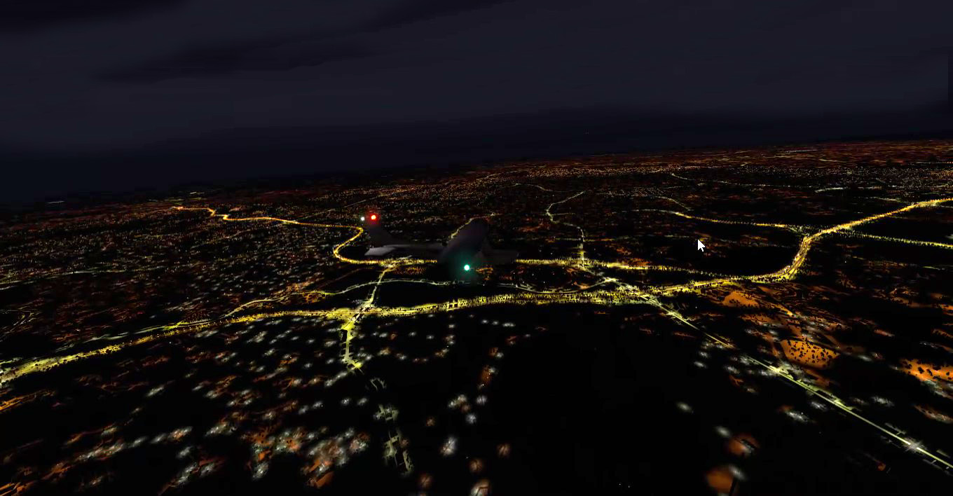 TABURET - XPLANE 11 - NIGHTXP ALABAMA AND GEORGIA