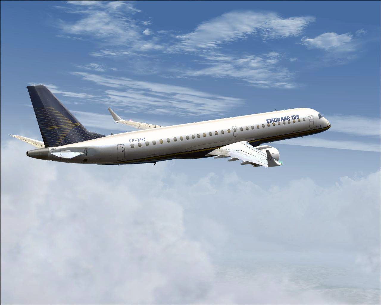 FEELTHERE - EMBRAER E-JETS V2 - EMBRAER 175 AND 195 FSX FS2004