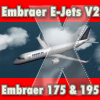 FEELTHERE - EMBRAER E-JETS V2 - 巴西航空工业公司 175 & 195 FSX FS2004