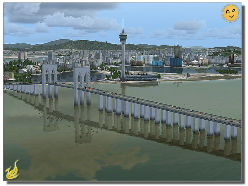 THAI CREATION - NI HAO MACAU: MACAU INTERNATIONAL AIRPORT FSX