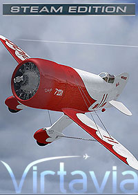 VIRTAVIA - GEE BEE SUPER SPORTSTER - FSX STEAM EDITION