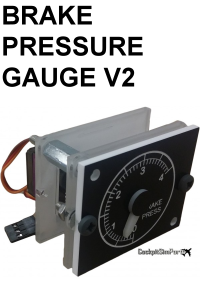 COCKPIT SIM PARTS - BRAKE PRESSURE GAUGE V2
