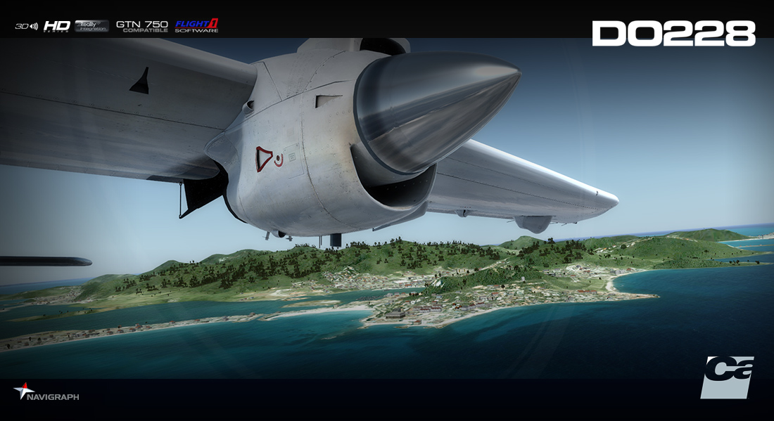 CARENADO - DO228 100 HD SERIES FSX P3D
