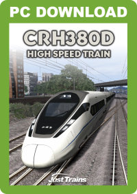 JUSTTRAINS - CRH380D HIGH SPEED TRAIN
