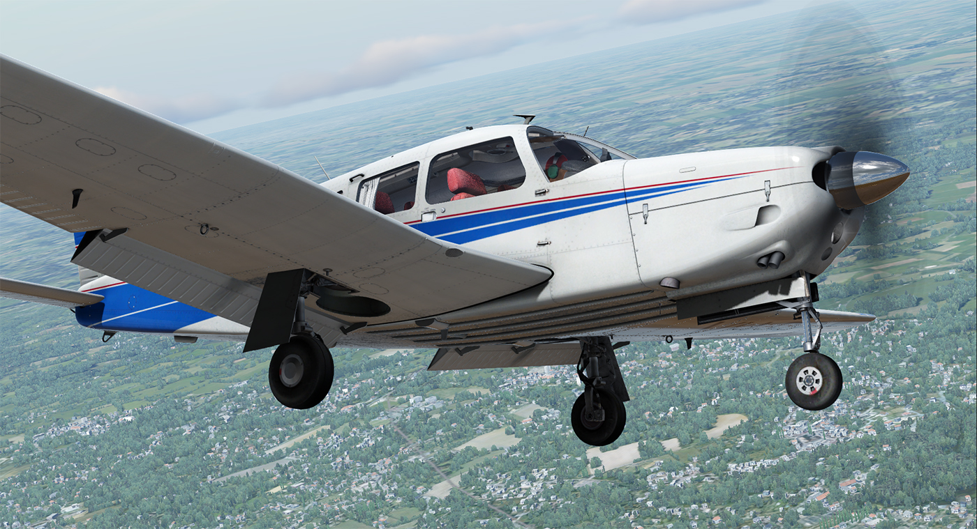 JUSTFLIGHT - PA-28R ARROW III FSW