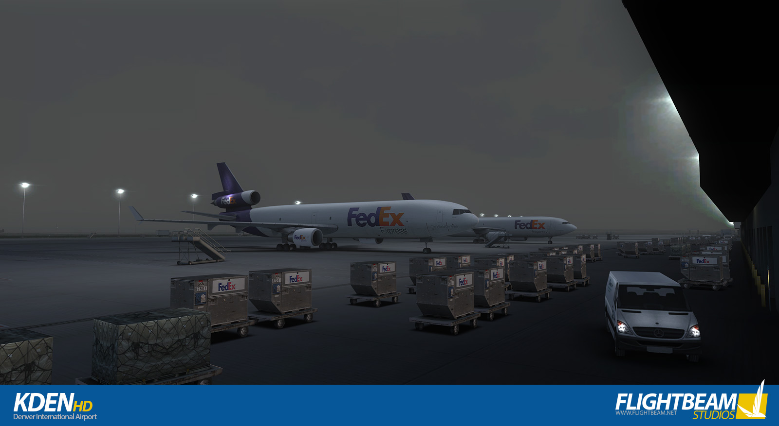 FLIGHTBEAM STUDIOS - KDEN - DENVER INTERNATIONAL AIRPORT FSX P3D