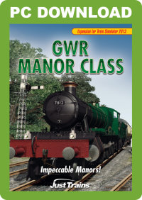 JUSTTRAINS - GWR MANOR CLASS