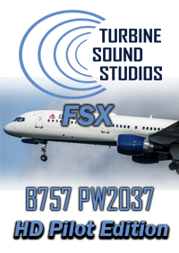 TURBINE SOUND STUDIOS - BOEING 757 PW2037 PILOT EDITION HD SOUNDPACK FOR FSX P3D