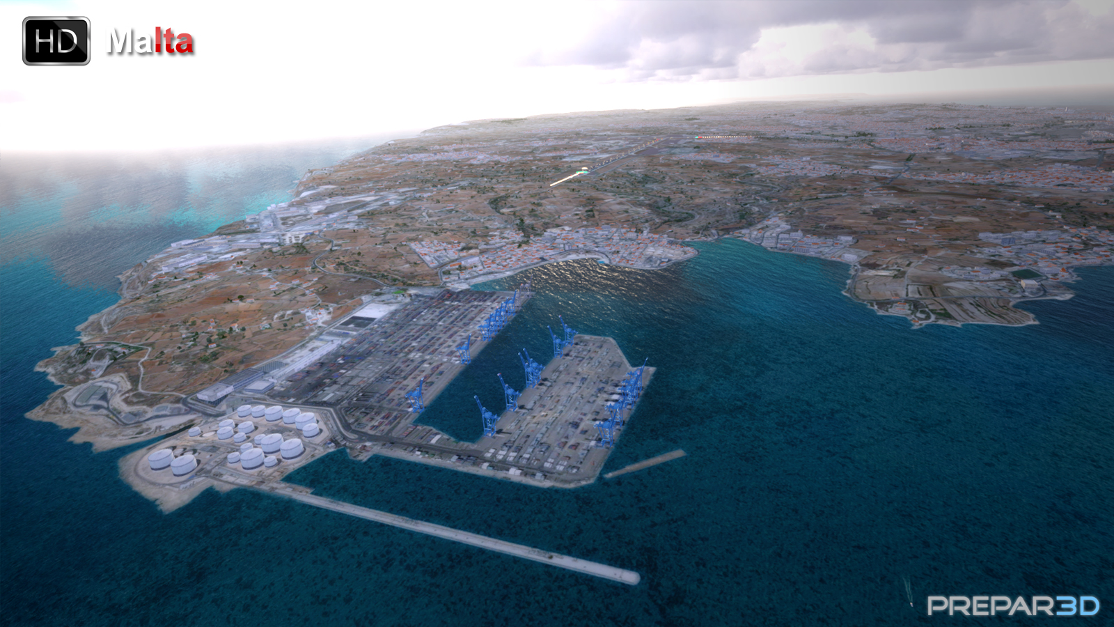 PREALSOFT - HD CITIES - MALTA FSX P3D