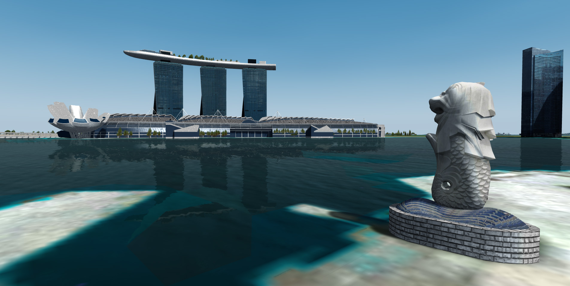 SAMSCENE - SINGAPORE CITY WOW FOR FSX P3D