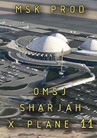 MSK PRODUCTIONS - SHARJAH INTL AIRPORT - OMSJ X-PLANE 11