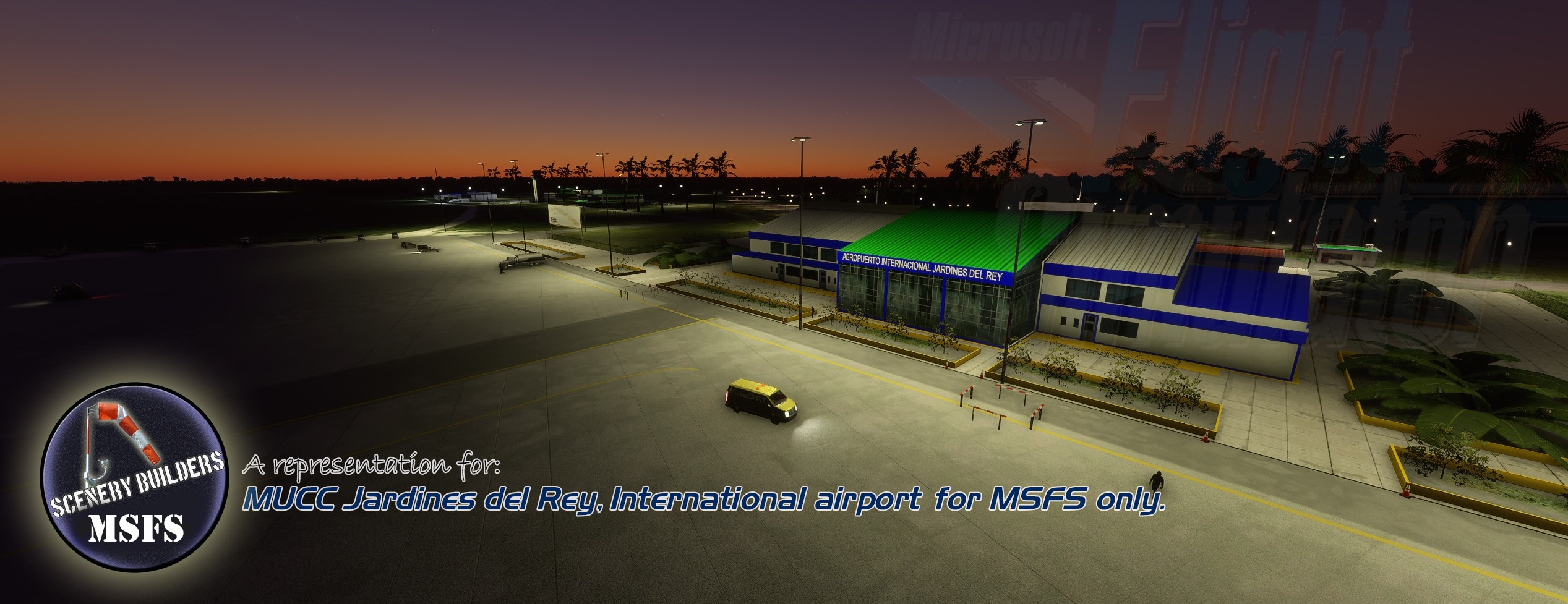 FSXCENERY - MUCC JARDINES DEL REY FOR MSFS ONLY