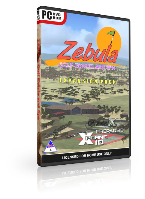 NMG - ZEBULA GOLF ESTATE AND SPA FSX P3D X-PLANE 10