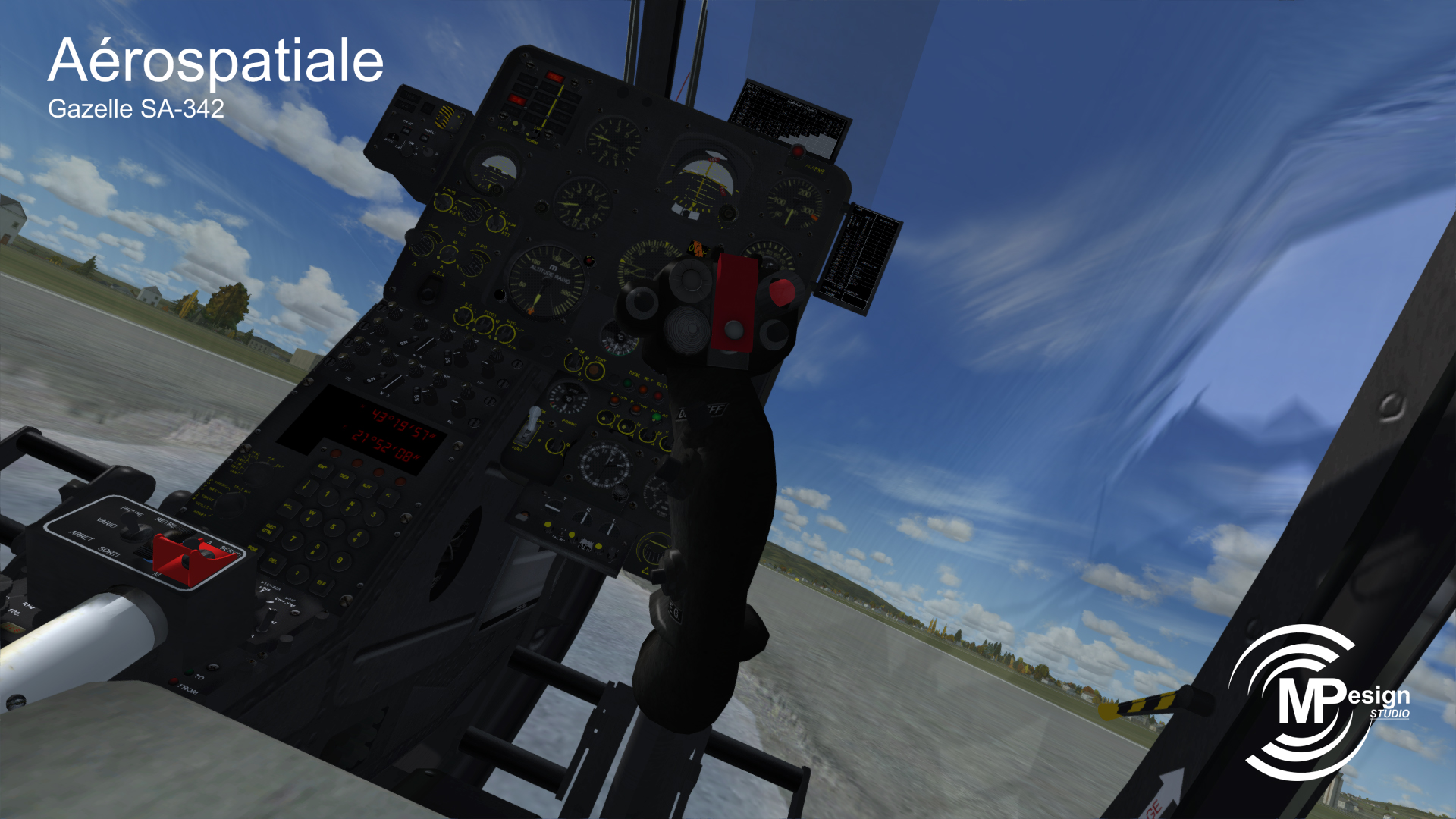 MP DESIGN STUDIO - AEROSPATIALE GAZELLE SA342 FSX P3D