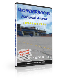 NMG SIMULATIONS - WONDERBOOM AIRPORT V1.3 P3DV4